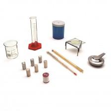 conjunto de calorimetria e termometria