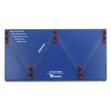 Placa de Resistores de Fio para Lei de Ohm